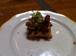 clam toast